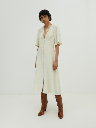 EDITED Šaty 'Vera' - biela, Model/-ka