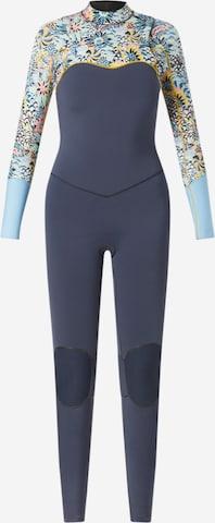 ROXY Sportsantrekk '4/3 MARINE BLOOM FZ GBS' i blå