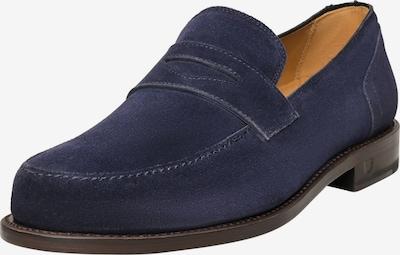 Henry Stevens Loafer Rahmengenäht 'Haywood PL' in blau, Produktansicht