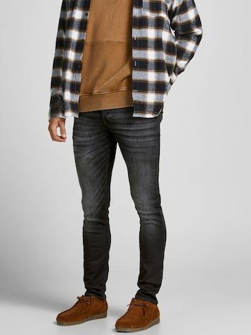 JACK & JONES Jeans 'Glenn' in Schwarz