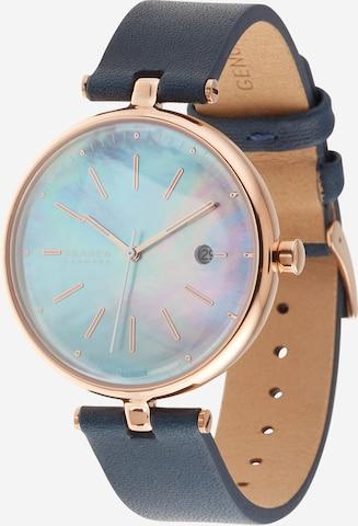 SKAGEN Uhr 'Karolina' in Blau