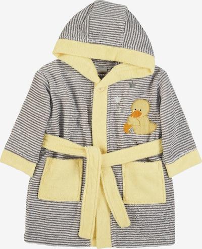 STERNTALER Bademantel 'Edda Baby' in hellgelb / grau, Produktansicht