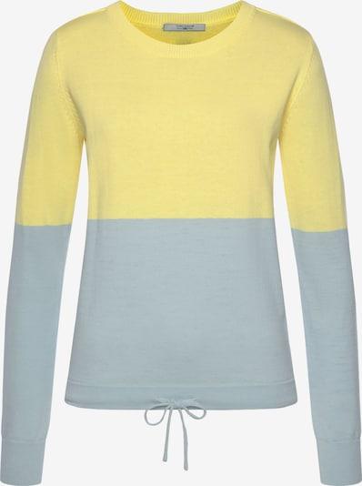 Tom Tailor Polo Team Pullover in gelb, Produktansicht
