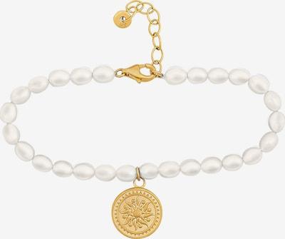 caï Bracelet in Gold / Pearl white, Item view