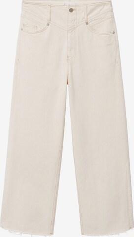 MANGO Jeans 'JULIETA' in Beige