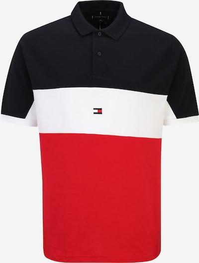 Tricou Tommy Hilfiger Big & Tall pe bleumarin / roși aprins / alb, Vizualizare produs