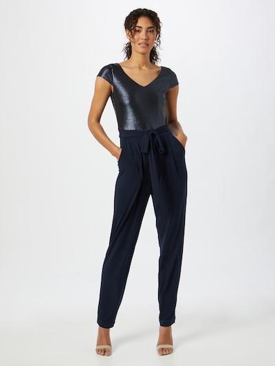Tuta jumpsuit SWING di colore blu scuro, Visualizzazione modelli