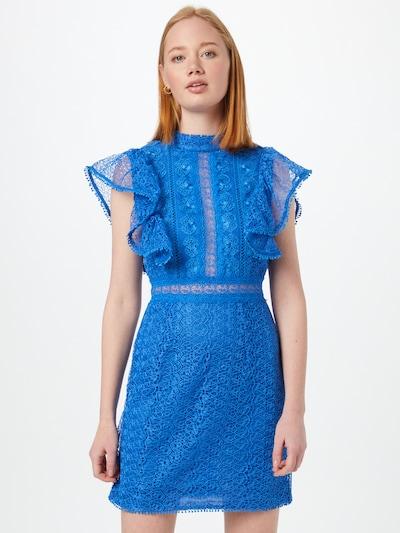 True Decadence Kleid in royalblau, Modelansicht