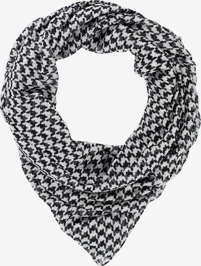 HALLHUBER Tuch in schwarz / weiß, Produktansicht