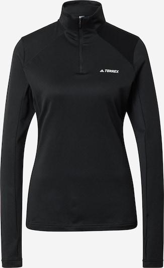 adidas Terrex Sportshirt in schwarz / weiß, Produktansicht