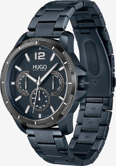 HUGO Аналогов часовник в нейви синьо / антрацитно черно / бяло, Преглед на продукта