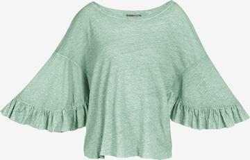 Tricou de la DreiMaster Vintage pe verde