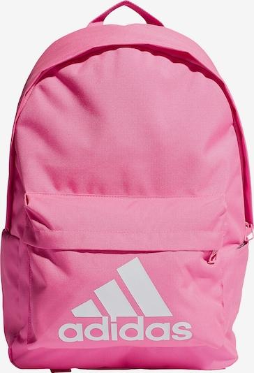 ADIDAS PERFORMANCE Rucksack in pink / weiß, Produktansicht
