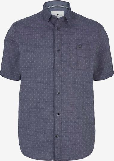 TOM TAILOR Hemd in taubenblau / weiß, Produktansicht