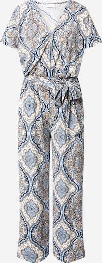 Freequent Jumpsuit 'HELLEN' in creme / navy / hellblau / pastellgelb, Produktansicht