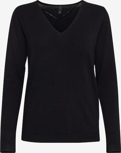 PULZ Jeans Trui 'PZSARA L/S' in de kleur Zwart, Productweergave