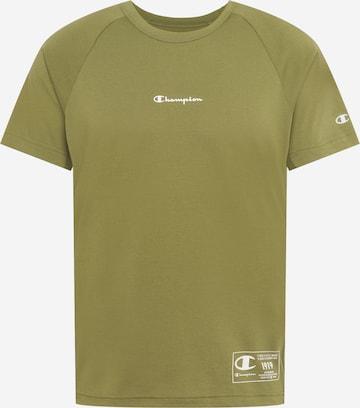 T-Shirt fonctionnel Champion Authentic Athletic Apparel en vert