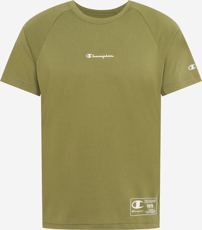 Champion Authentic Athletic Apparel T-Shirt fonctionnel en olive / blanc, Vue avec produit