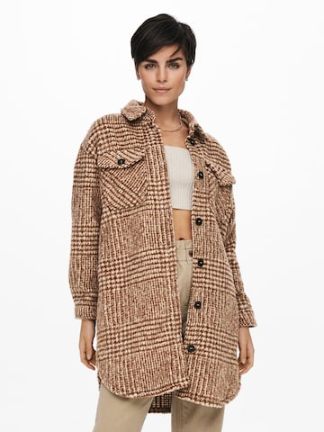 ONLY Between-Seasons Coat 'Stormy' in White