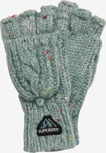 Superdry Handschoenen met korte vingers 'Gracie' in de kleur Opaal / Geel / Oranjerood / Zwart / Wit, Productweergave