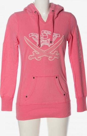 SANSIBAR Kapuzensweatshirt in XS in pink, Produktansicht