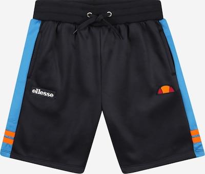 ELLESSE Pantalon 'Alzateca' en bleu nuit / bleu clair / orange, Vue avec produit