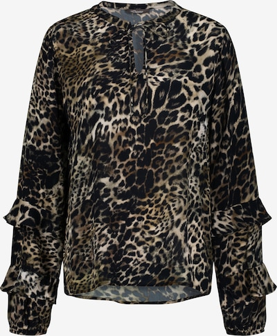 PRINCESS GOES HOLLYWOOD Blouse 'LEO EASY' in Brown / Black, Item view