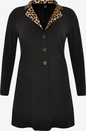 Yoek Blazer 'LEOPARD' in hellbeige / braun / schwarz, Produktansicht