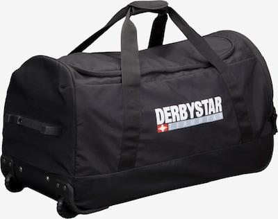 DERBYSTAR Sporttasche in grau / rot / schwarz / weiß, Produktansicht