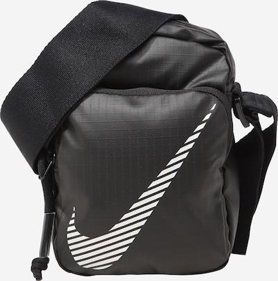 Nike Sportswear Skuldertaske 'Heritage' i sort / hvid, Produktvisning
