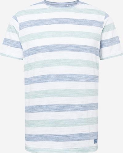kék / fehér BLEND Póló, Termék nézet