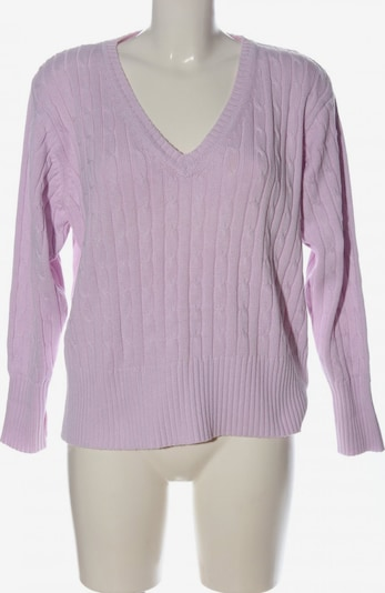 michele boyard V-Ausschnitt-Pullover in XXL in lila, Produktansicht