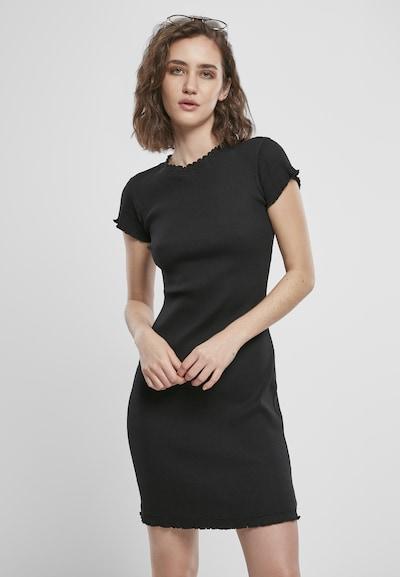 Urban Classics Jurk in de kleur Zwart, Modelweergave