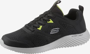 Sneaker low de la SKECHERS pe negru