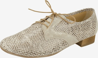 Lei by tessamino Lace-Up Shoes in Camel / Light beige, Item view