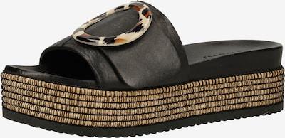 INUOVO Muiltjes in de kleur Zwart, Productweergave