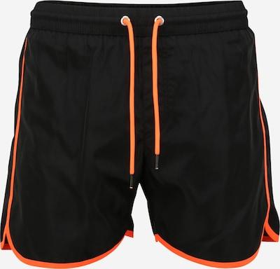 DIESEL Plavecké šortky 'DOLPHIN' - svítivě oranžová / černá, Produkt