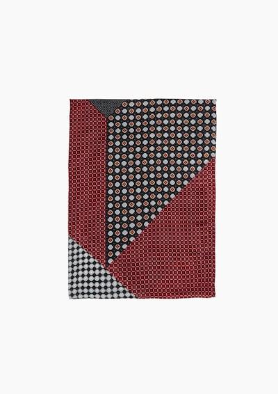 s.Oliver Loopschal in rot / schwarz, Produktansicht