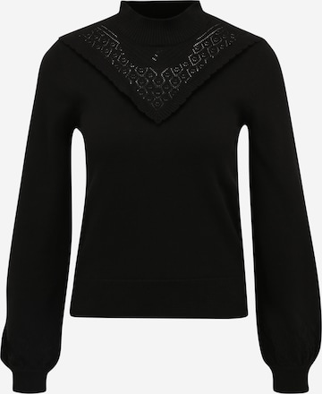 OBJECT Petite Pullover 'SHARON' in Black
