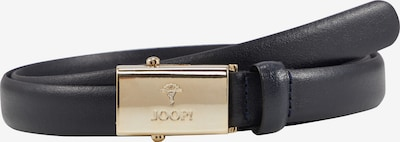 JOOP! Gürtel in dunkelblau / gold, Produktansicht