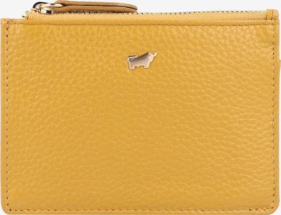 Braun Büffel Portemonnaie in gelb, Produktansicht