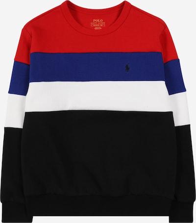 POLO RALPH LAUREN Sweater majica u morsko plava / crvena / crna / bijela, Pregled proizvoda