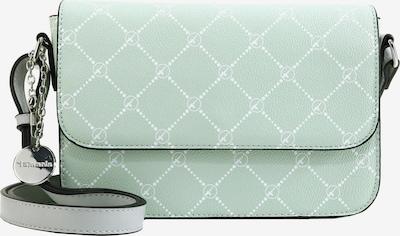 TAMARIS Schoudertas 'Anastasia' in de kleur Mintgroen / Wit, Productweergave