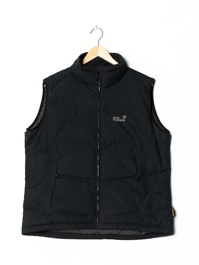 JACK WOLFSKIN Vest in XXL-XXXL in Black, Item view