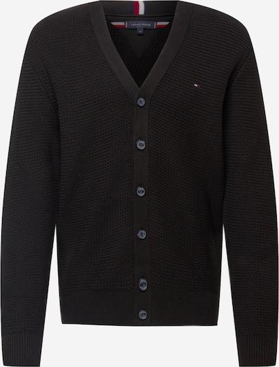 TOMMY HILFIGER Strickjacke in schwarz, Produktansicht