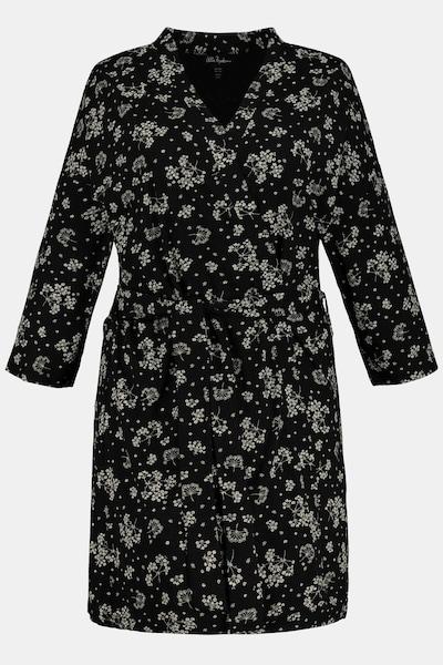Ulla Popken Ulla Popken Damen große Größen Kimono 747797 in schwarz, Produktansicht