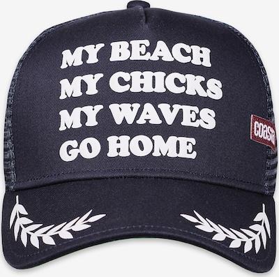 Coastal Cap in navy / weiß, Produktansicht