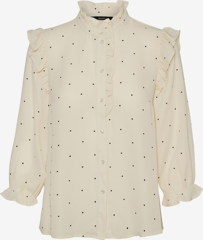 Vero Moda Petite Blouse 'MARLEY' in Beige / Black, Item view