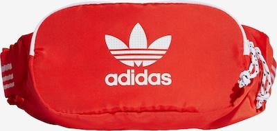 ADIDAS ORIGINALS Heuptas in de kleur Rood / Wit, Productweergave
