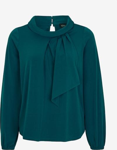 s.Oliver BLACK LABEL Shirt in de kleur Petrol, Productweergave